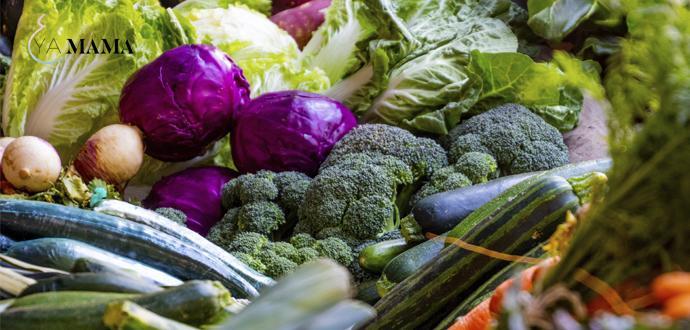 Овощи, содержащие железо