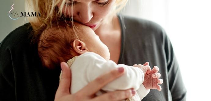 Новорожденный после кесарева сечения