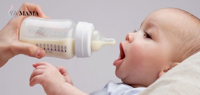 Кормление с бутылочки