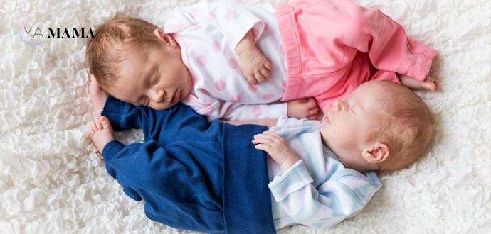 Разнополые младенцы